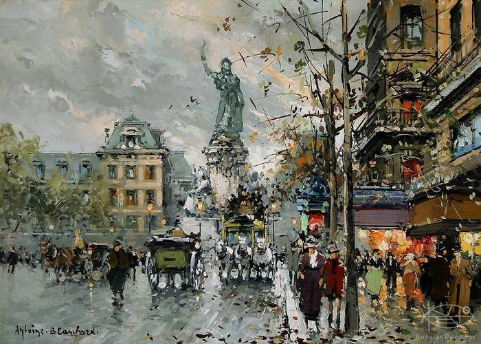 Blanchard Antoine - 'Place de la Republique'