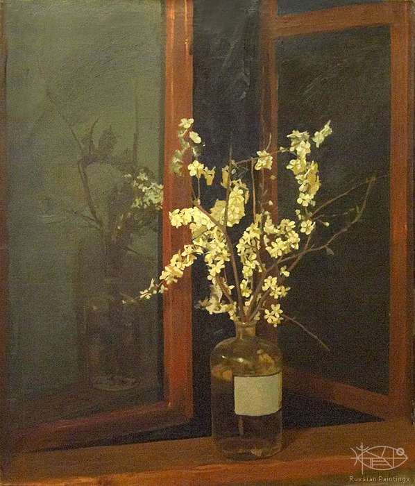 Blok Lyudmila - 'Flowers on the Sill'