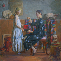 Blok Lyudmila - 'Mother and Daughter'