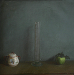 Blok Lyudmila - 'Still Life with Green Apple'