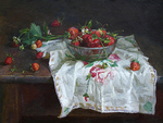 Blok Lyudmila - 'Still Life with Strawberries'