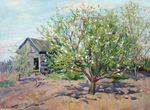Bogdanov Andrey  - 'Blossoming Apple-tree'