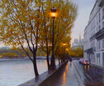 Bondarenko Yuri - 'Autumn in Paris'