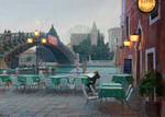 Bondarenko Yuri Mikhaylovich - 'Evening in Venice'