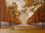 Bondarenko Yuri - 'In Paris. The Tuileries Gardens'