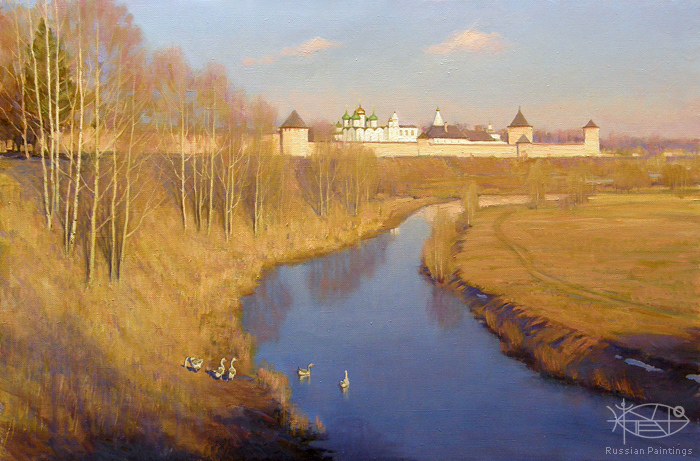 Bondarenko Yuri - 'On the Kamenka River'