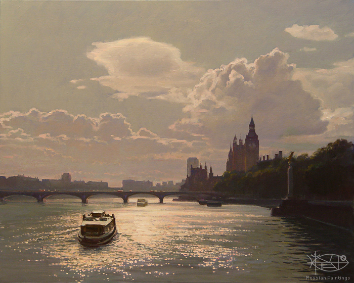Bondarenko Yuri - 'On the Thames River'