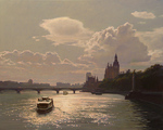 Bondarenko Yuri Mikhaylovich - 'On the Thames River'