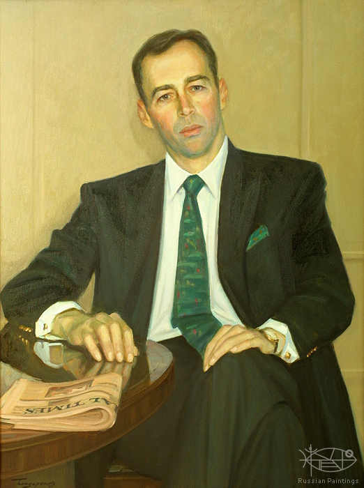 Bondarenko Yuri - 'Portrait of Anders Lindquist'