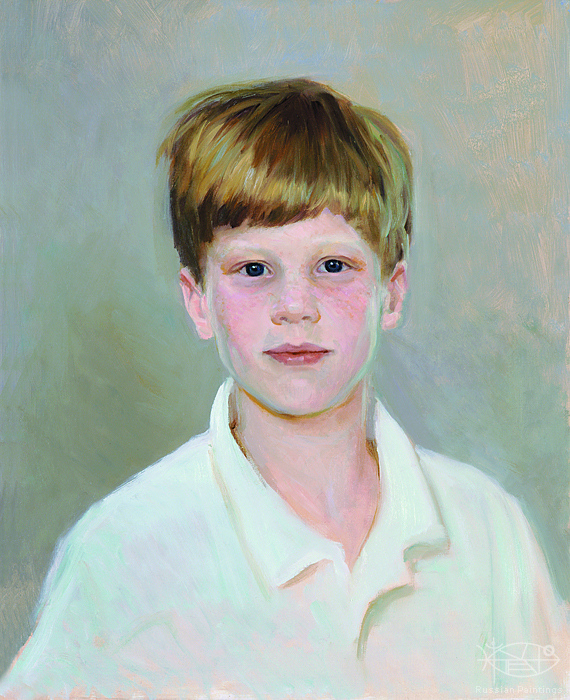 Bondarenko Yuri - 'Portrait of Boy'