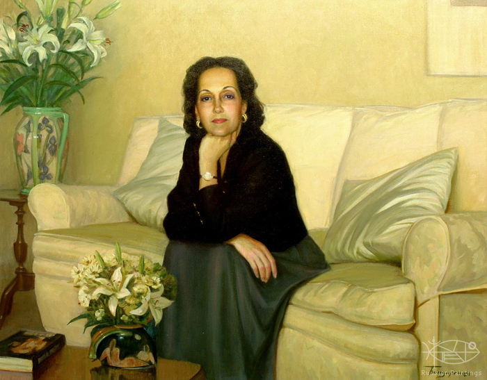 Bondarenko Yuri - 'Portrait of Sancha Simpson'