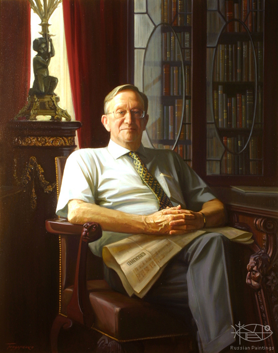 Bondarenko Yuri - 'Portrait of Sir Kenneth Morrison'