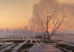 Bondarenko Yuri Mikhaylovich - 'Winter Evening'