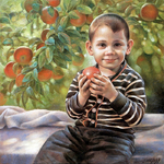 Braginskiy Arthur - 'Boy with Apple'