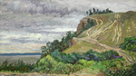 Bulgakov Valeriy - 'Volga before the Rain. The Molodetskiy Mound'