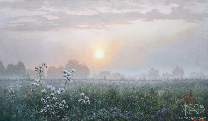Burmakin Yevgeniy - 'At Dawn'