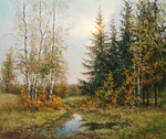 Burmakin Yevgeniy  - 'Early Spring'