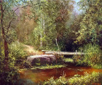 Burmakin Yevgeniy  - 'Forest Bridge'