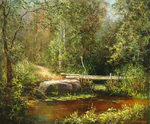 Burmakin Yevgeniy - 'Forest Brook'