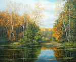 Burmakin Yevgeniy - 'Forest Lake'