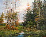 Burmakin Yevgeniy - 'In the Autumn Forest'