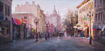 Busygin Valeriy - 'Evening Arbat'