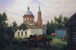 Busygin Valeriy - 'Evening in Village'