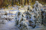 Busygin Valeriy - 'Snowy Winter'