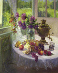Busygin Valeriy - 'Still Life in Cottage'