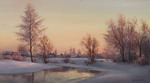 Busygin Valeriy - 'Sunset on Tsna River'