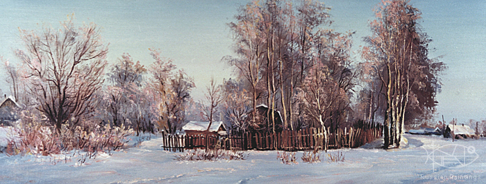 Busygin Valeriy - 'The Barybino Village'
