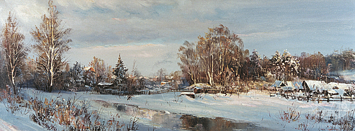Busygin Valeriy - 'The Rastorguevo Village'
