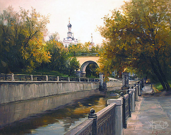 Busygin Valeriy - 'The Yauza River'