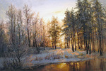 Busygin Valeriy - 'Winter Dawn'