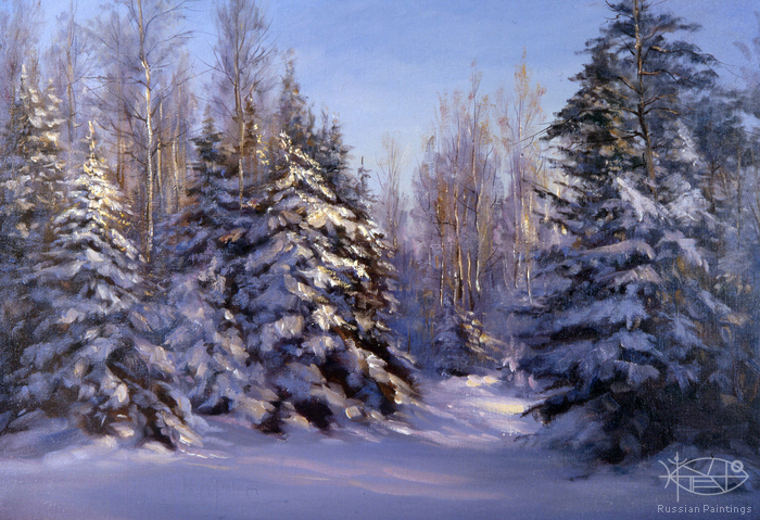Busygin Valeriy - 'Winter Forest'
