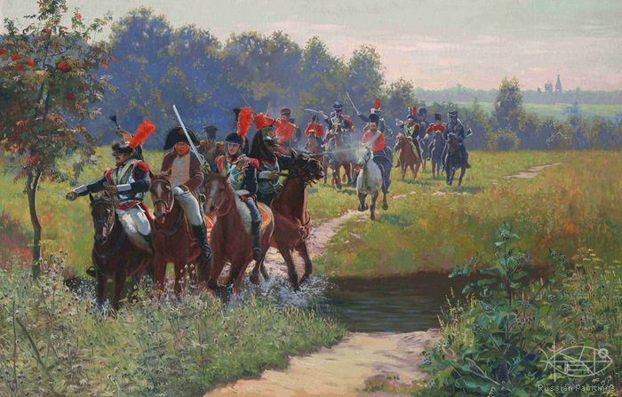 Cojin Semen - 'Napoleon's Running Away from the Cossacks'