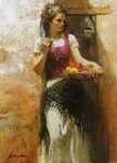Dangelico Giuseppe - 'Flower Seller'