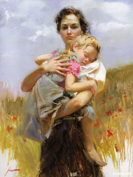 Dangelico Giuseppe - 'Mother and Daughter'