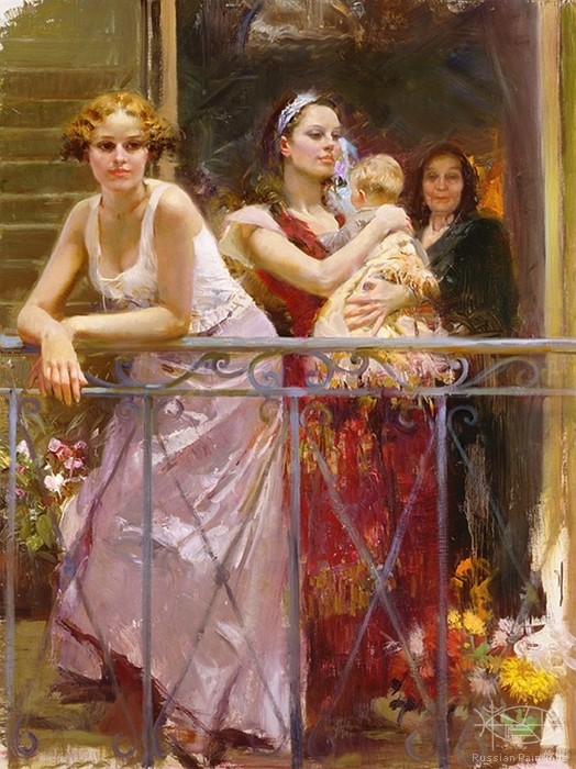 Dangelico Giuseppe - 'Wating at the Balcony'