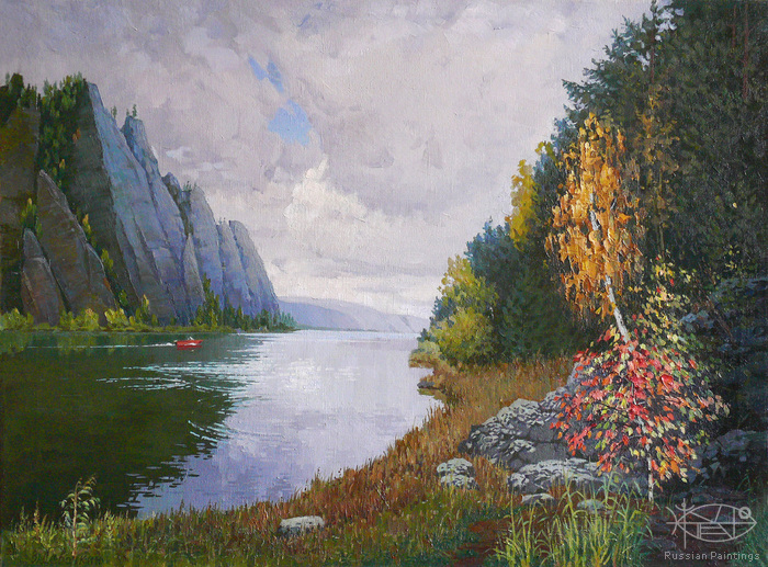 Devochkin Vladimir - 'Row on the Mana River'