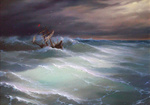 Dmitriew George - 'Amidst the Rough Sea'