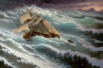 Dmitriew George - 'Among the Stormy Sea'