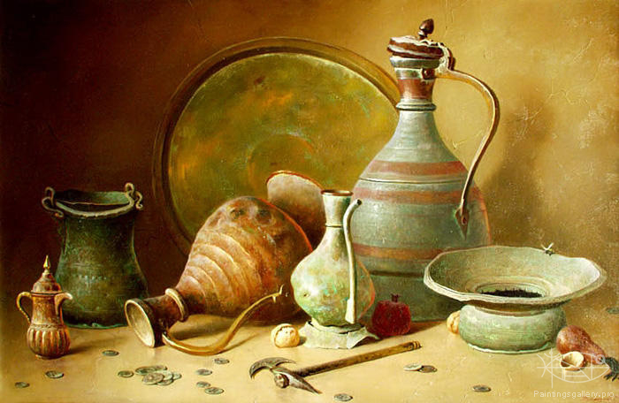 Dmitriew George - 'Ancient Jugs'