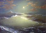 Dmitriew George - 'Moon and Waves'