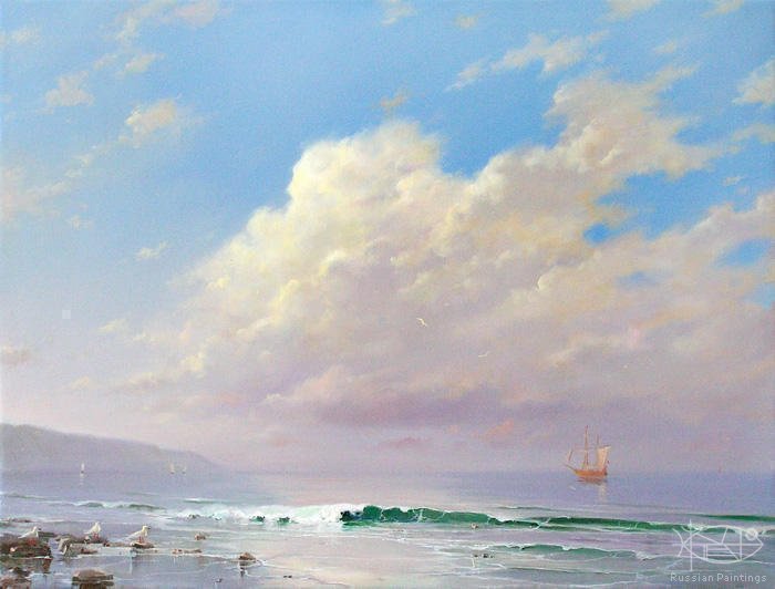 Dmitriew George - 'Morning on Sea'