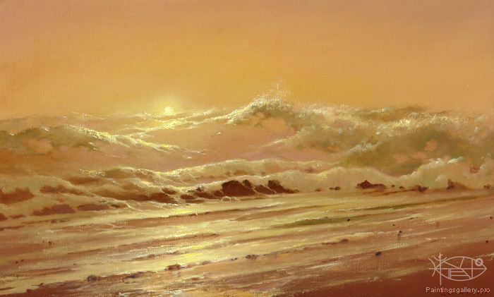 Dmitriew George - 'Morning on th Sea'