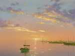 Dmitriew George - 'Morning on the Sea'