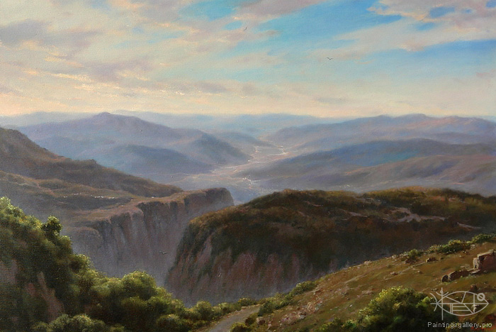 Dmitriew George - 'Mountain Motive. Crete'