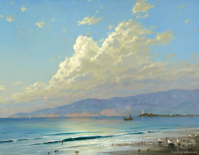 Dmitriew George - 'On the Mediterranean Sea'