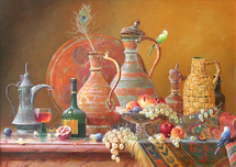 Dmitriew George - 'Oriental Still Life'
